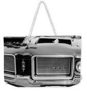 1972 Oldsmobile 442 Grille Emblem Weekender Tote Bag