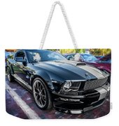 2007 Ford Mustang Shelby Gt Painted  Weekender Tote Bag