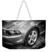 2010 Ford Mustang Convertible Bw Weekender Tote Bag