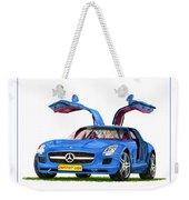 2010 Mercedes Benz S L S Gull-wing Weekender Tote Bag
