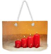 4th Advent  Weekender Tote Bag