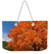 A Blanket Of Fall Colors Weekender Tote Bag