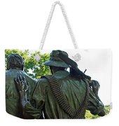 A Soldier's Hand Weekender Tote Bag