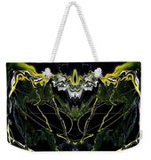 Abstract 42 Weekender Tote Bag by J D Owen