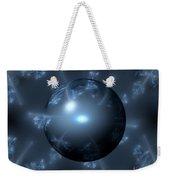 Abstract Blue Globe Weekender Tote Bag