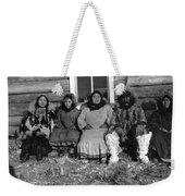 Alaska Eskimo Family Weekender Tote Bag