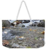 Alaskan Waterfall Weekender Tote Bag