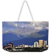 Anchorage Skyline Weekender Tote Bag