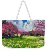 Ancient Olympia During Springtime Weekender Tote Bag