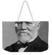 Andrew Carnegie (1835-1919) Weekender Tote Bag