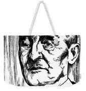Anton Bruckner (1824-1896) Weekender Tote Bag