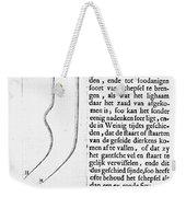 Anton Van Leeuwenhoek Weekender Tote Bag