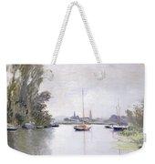 Argenteuil Weekender Tote Bag by Claude Monet