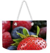Assorted Fresh Berries Weekender Tote Bag
