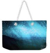 Aurora Borealis Weekender Tote Bag by Setsiri Silapasuwanchai