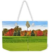Autumn Golf Weekender Tote Bag