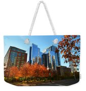 Autumn In Boston Weekender Tote Bag