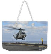 Aviation Boatswains Mate Directs Weekender Tote Bag