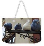 4 Birds Weekender Tote Bag