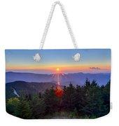 Blue Ridge Parkway Autumn Sunset Over Appalachian Mountains  Weekender Tote Bag