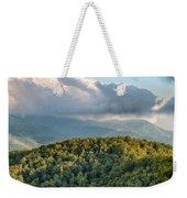 Blue Ridge Parkway Scenic Mountains Overlook Summer Landscape Weekender Tote Bag
