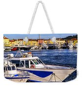 Boats At St.tropez Weekender Tote Bag by Elena Elisseeva