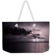 4 Bolts Over Captiva Island Weekender Tote Bag