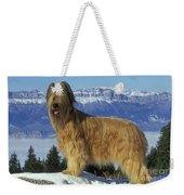 Briard Dog Weekender Tote Bag by Jean-Michel Labat