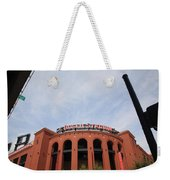 Busch Stadium - St. Louis Cardinals Weekender Tote Bag by Frank Romeo