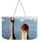 California Pelicans Weekender Tote Bag