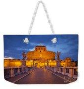 Castel Sant Angelo Weekender Tote Bag by Brian Jannsen