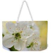 Cherry Flowers Weekender Tote Bag