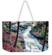 Chesterfield Gorge New Hampshire Weekender Tote Bag by Edward Fielding