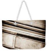 Chevrolet Camaro Taillight Emblem Weekender Tote Bag