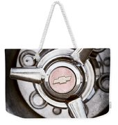 Chevrolet Wheel Emblem Weekender Tote Bag