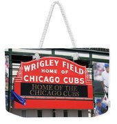 Chicago Cubs - Wrigley Field Weekender Tote Bag