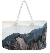 Chinese White Pine On Mt. Huangshan Weekender Tote Bag