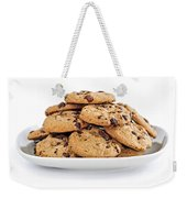 Chocolate Chip Cookies Weekender Tote Bag by Elena Elisseeva