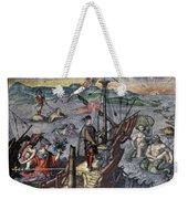 Christopher Columbus (1451-1506) Weekender Tote Bag