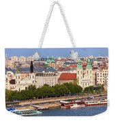 City Of Budapest In Hungary Weekender Tote Bag