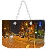 Cleveland Ohio Weekender Tote Bag by Frozen in Time Fine Art Photography