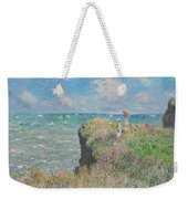 Cliff Walk At Pourville Weekender Tote Bag