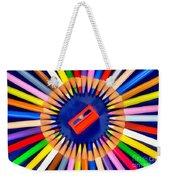 Colorful Pencils Weekender Tote Bag