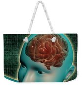 Conceptual Image Of Female Body Weekender Tote Bag
