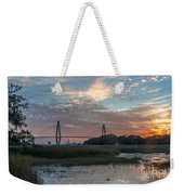 Charleston Cooper River Bridge Weekender Tote Bag