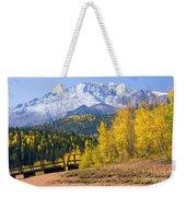 Crystal Lake On Pikes Peak Weekender Tote Bag