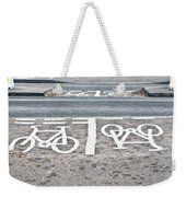 Cycle Path Weekender Tote Bag by Tom Gowanlock