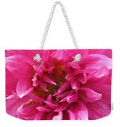 Dahlia Named Pretty In Pink Weekender Tote Bag