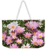Daisies Weekender Tote Bag by Michael Goyberg