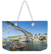 Dom Luis Bridge Porto Portugal Weekender Tote Bag